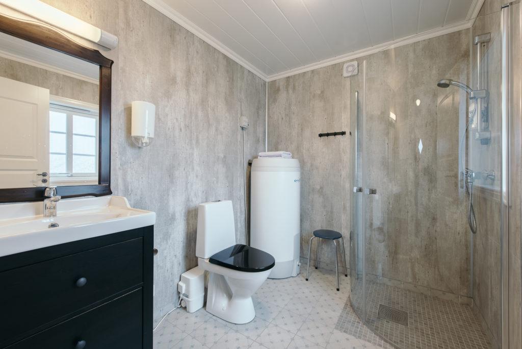 Toalett/Bad i utleielokalet
